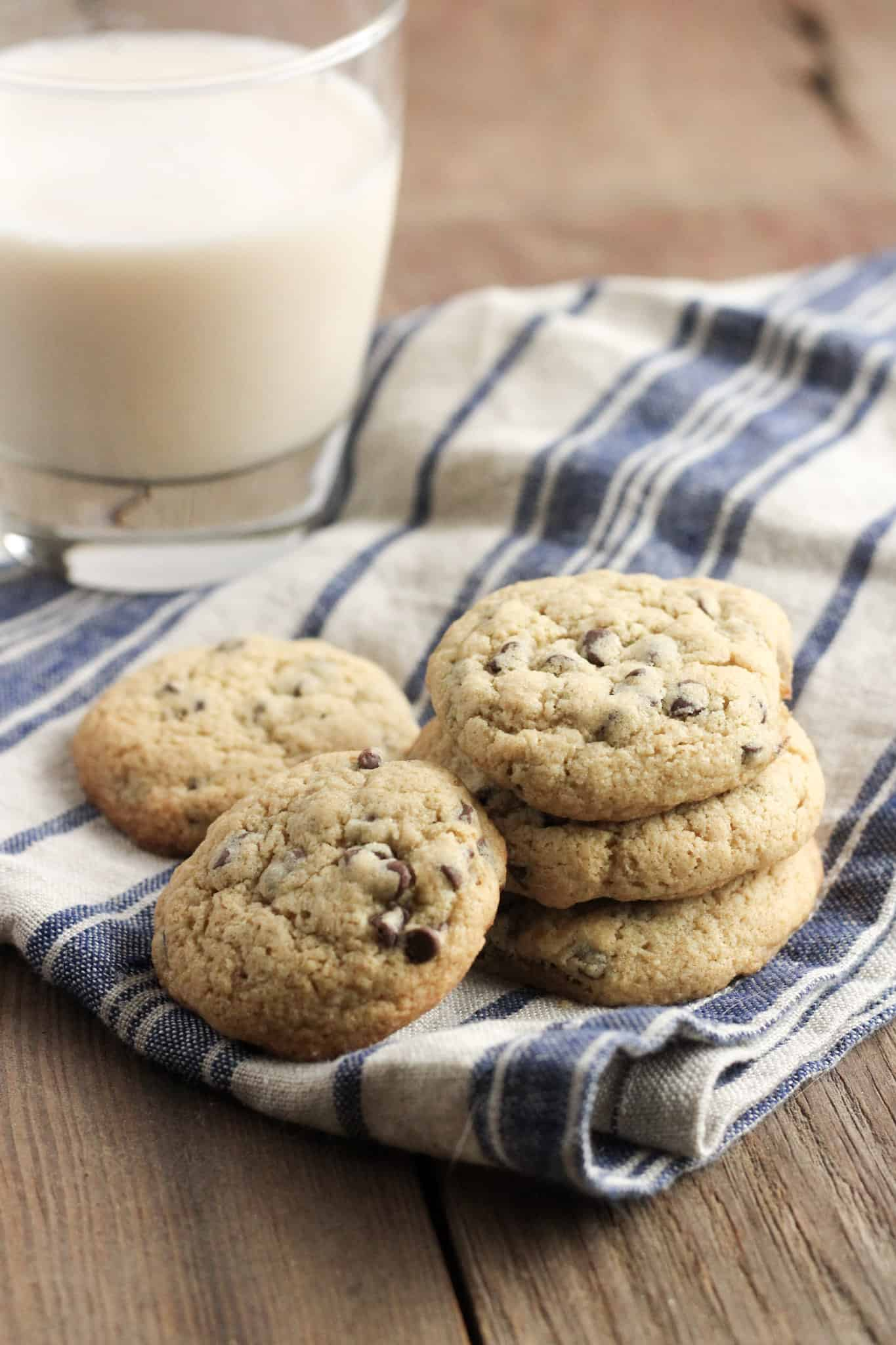 Gluten Free Chocolate Chip Cookies with Sorghum Flour